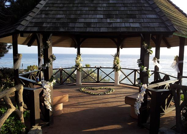 Laguna Beach Gazebo Tropical Wedding