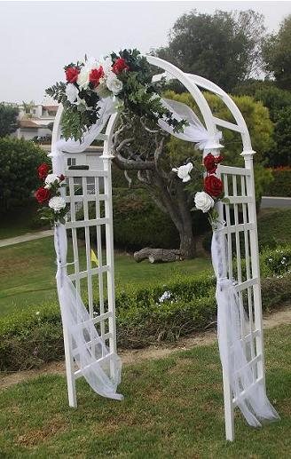 Wedding arch decorations for Arch wedding decoration ideas