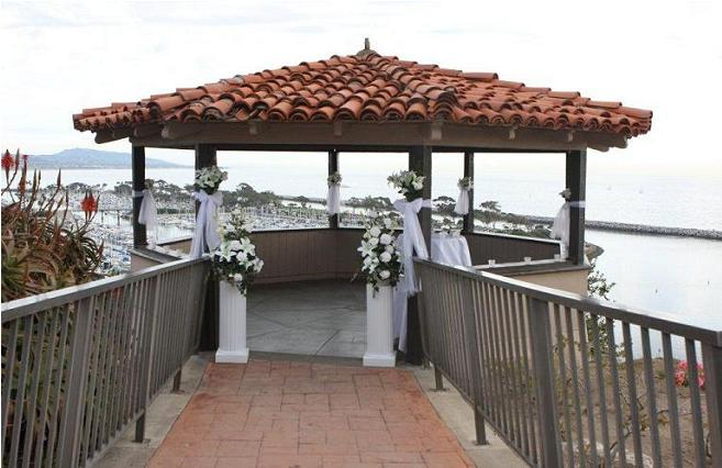 Dana Point Sampson Gazebo Wedding